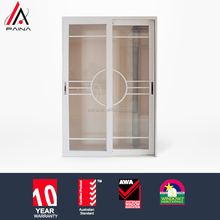 China sliding door with 5m+12A+5m double glass