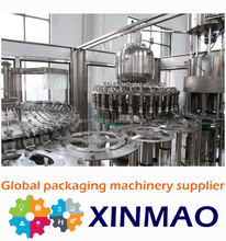 hot beverage filling line /plant filling juices /Bottle Washing Filling And Capping Line