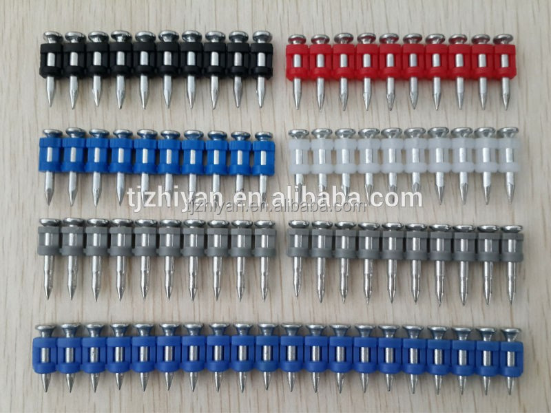 Various Galvanized Gas Pin Nail for Gas Nailer HILTI GX120