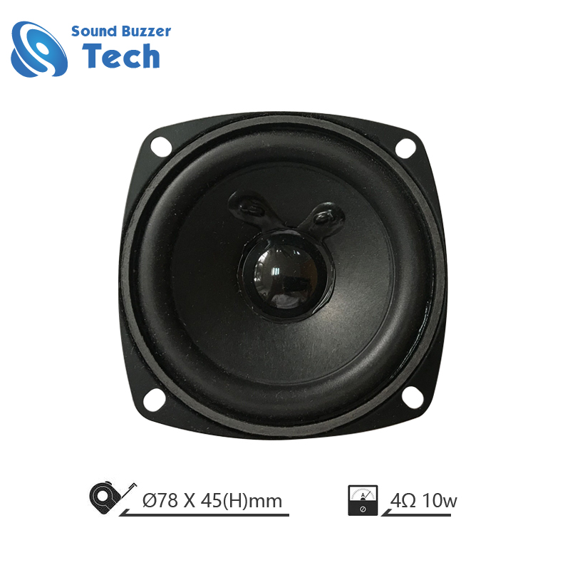 Factory direct 4 ohm <strong>10</strong> watt 3 inch full range speaker <strong>driver</strong>