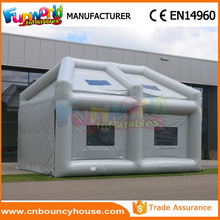 Hot inflatable spray tan tent inflatable spray paint tent for car