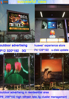 P10 P8 P7.62 led display control system with cheap price for full color modules