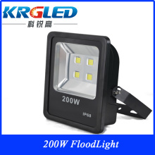 Super bright CE RoHS ip66 led flood light 200w remote controlled battery operated led light