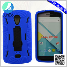 Guangzhou JUNBO Mobile Phone AccessoriesThree in One Silicone+PC Combo Cell phone Cover For BLU Studio X
