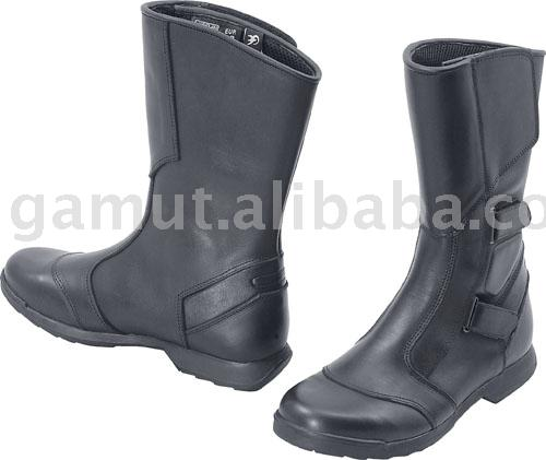Motorcycle Boots Racing Shoes Leather Boots
