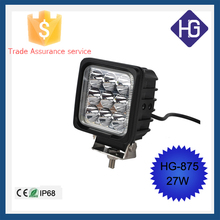 "Factory direct 4"" 27w led work light 4 inch 27 watt light 4 inches 27w led driving light"