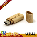 Free Logo Wood Rectangular U Disk 64GB