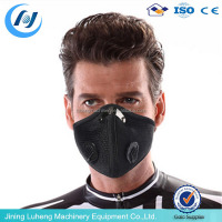 Non woven fabrics Face shield/ chemical respirator/ welding mask respirator with carbon filter