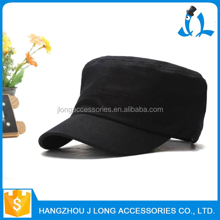 Hot selling unique great material fashion military officer cap pictures