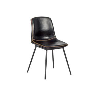 Hot Sale Modern Leisure Indoor Pu Leather Dining Room Chair