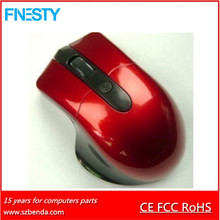 2017 New RF411 Brand Name Computer 2.4Ghz Wireless Optical Mouse