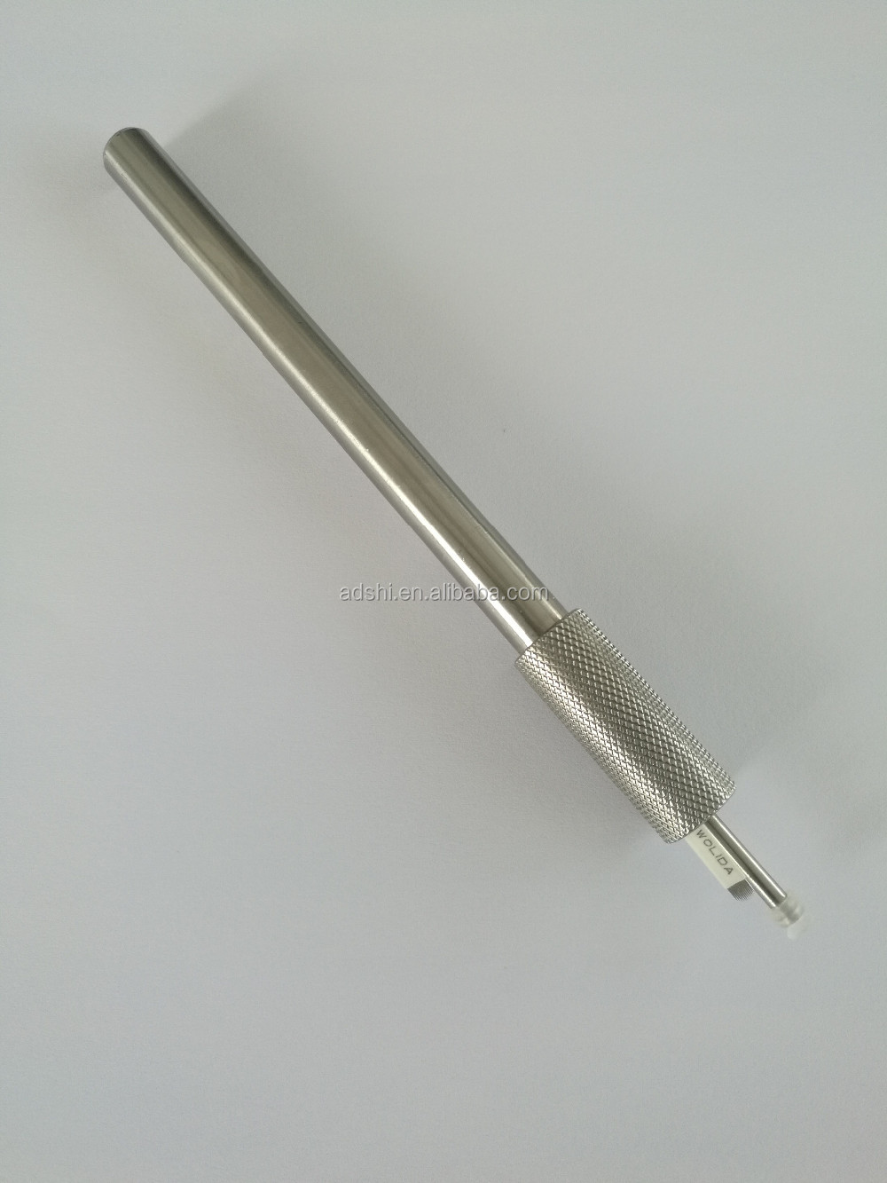 Heavy Silver Eyebrow Tattoo Pen SS Autoclavable Permanent Makeup microblading Tools