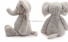 Lovely plush elephant toy wholesale soft long nose colorful stuffed plush elephant doll for gifts birthday