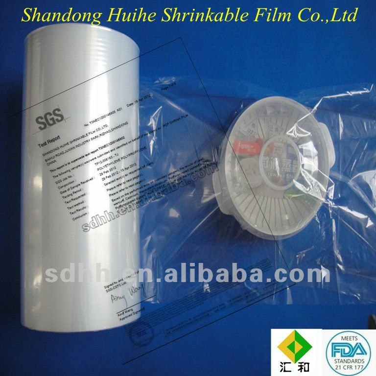 Plastic Kitchenware Surface Protection POF Heat Shrink Film