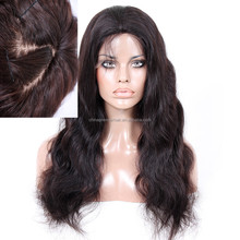 Customize Body Wave 100% Virgin Brazilian Remy Human Hair Silk Top Lace Front Wig