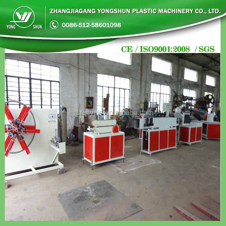 PVC fiber garden hose production line with simple operation