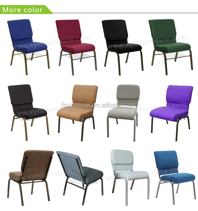 Chinese style high quality stackale used church chairs for for Chinese style furniture for sale
