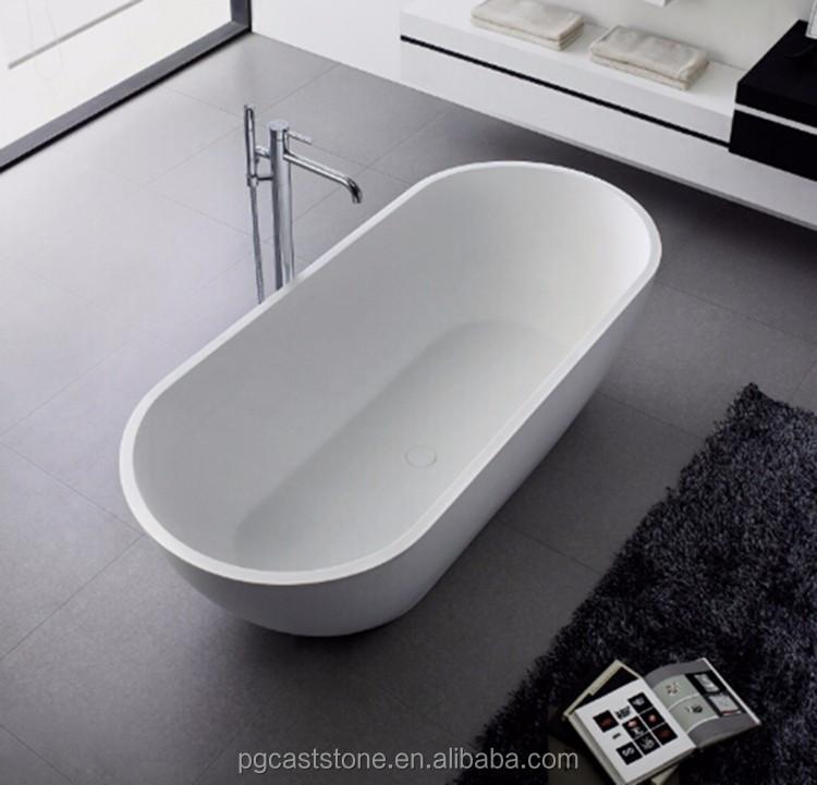High Quality Freestanding 52 Inch Bathtub PG11878