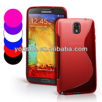 Tpu S Line Mobile Phone Case Cover For Samsung Galaxy note 3 n9000