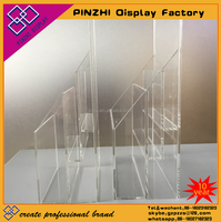 Clear acrylic pen display stand