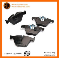 Top quality brake block for BMW X1 OE 34116780711