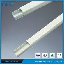 Haitai PVC Slotted Electrical Trunking Wiring Cable Duct With Cover