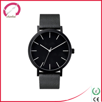 Hottest blue sapphire stainless steel material watch
