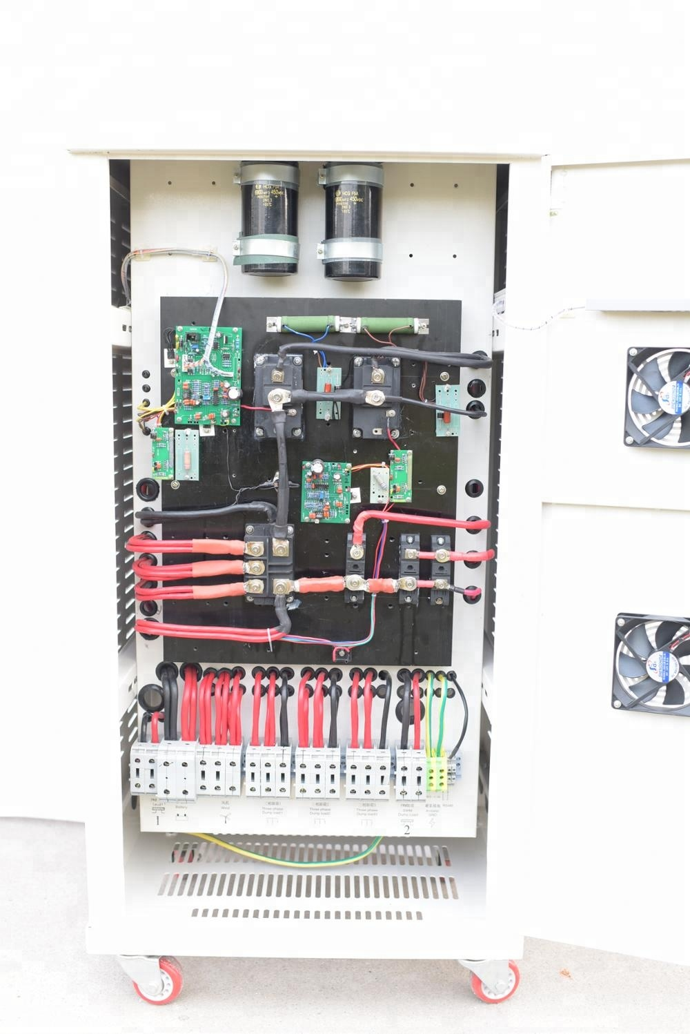 On grid wind turbine controller 50KW