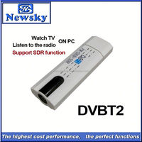 Portable usb dvb-t2 ethernet tv tuner support SDR function