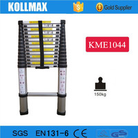 Aluminium Manufacturer Portable Mobile Lightweight Folding Telescopic Ladder with EN131-6