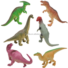 Kids Collection Promoted Gift Intellectual Develop Simulation Animals 12 Models Jurassic World Plastic Sound Dinosaur Figure Toy