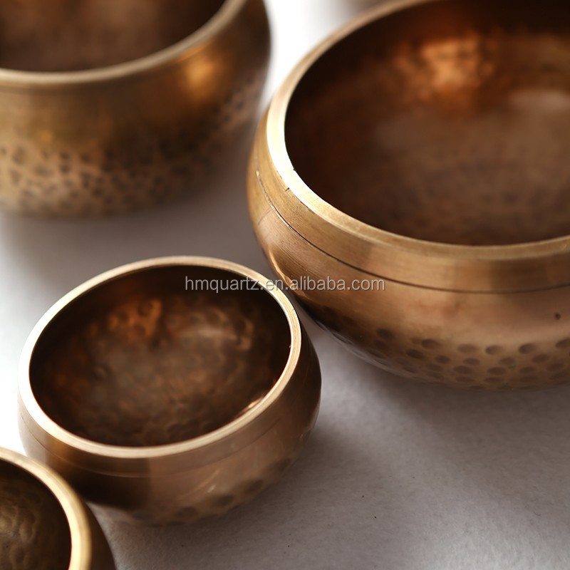 HM Tibetan Sound Healing Hand Hammered Singing Bowl