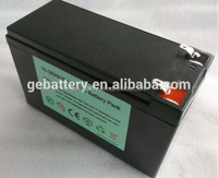 Rechargeable lifepo4 packs 12v 40ah battery for electric vehicles