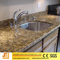 China with CE certification best selling high quality giallo fiorito granite countertop