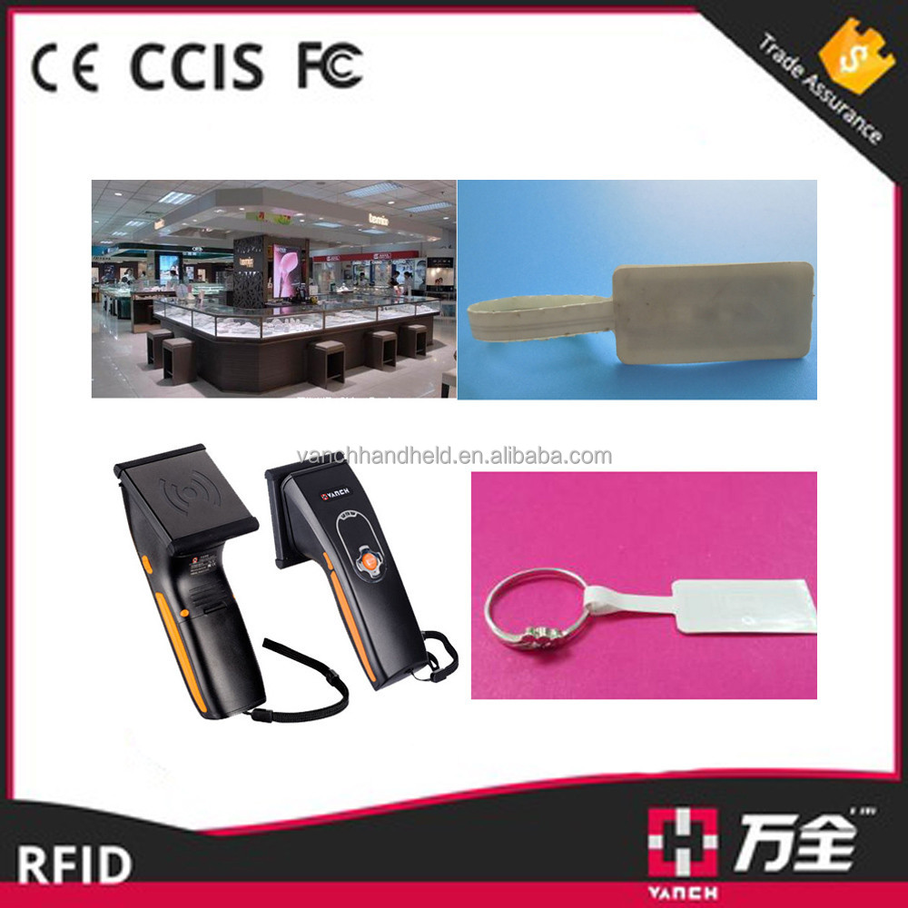 uhf rfid reader long range with bluebooth for data collection read cow tag