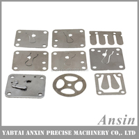 Auto fridge reed compressor valve plate