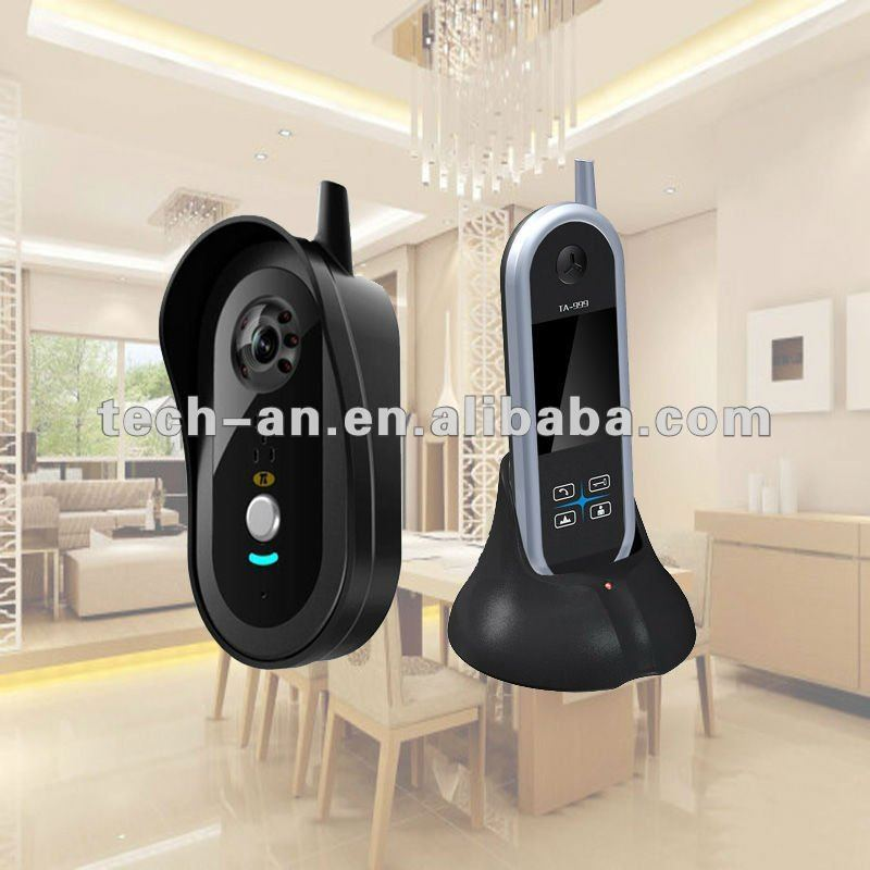 Automatic Switching Color Audio Video Wireless Door Chimes