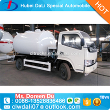 Manufacturer used 4*2 two axles small pressure LPG bobtail Road Tankers Trucks for sale