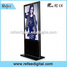 32/42/55/65inch ipad style/ stright corner floor standing lcd panel