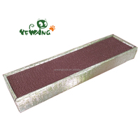 Yewang new packing corrugated cardboard cat scratcher of eco friendly pet products