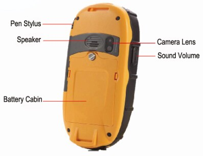 Waterproof IP65 Rechargeable Li-ion Battery Handheld Device Same with GPS Trimble Juno