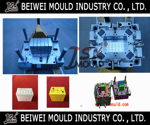 Plastic Car battery storage box mould