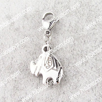 wholesale factory jewelry stainless steel charms fashion animal charms