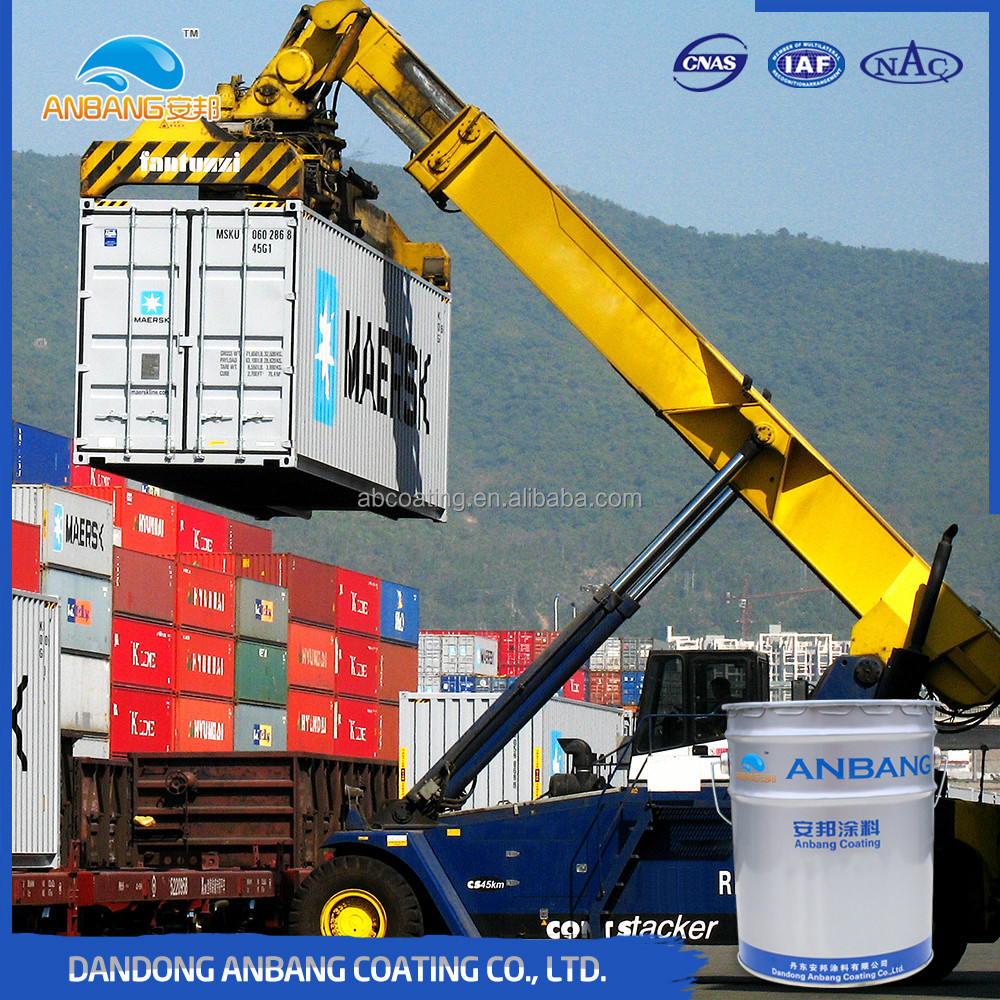 AB362G cathodic protection function anticorrosive two component epoxy zinc rich primer paint