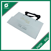 very cheap price strong quality cloth garment paper bag for wholesale