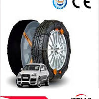 Antiskid Tyre Snow Chain Rubber