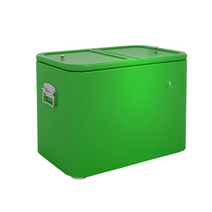 Cheap Resurable Metal Beer Laboratory Cooler with Opener