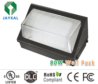 UL/DLC Approval 80W Led Wall Pack Outdoor Lightings Fixtures