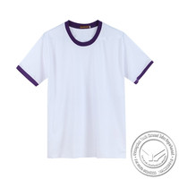 garment dyed made in China 100% cotton tshirt no label led tshirt