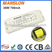 Factory supply meanwell constant current 700mA LED power driver 36W